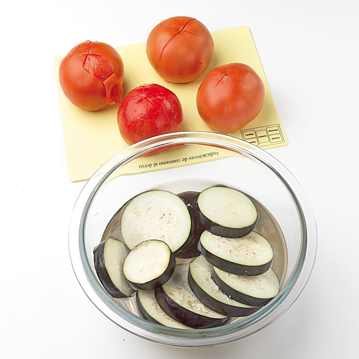 Recetas ideas interesantes y trucos de cocina semana - Berenjenas con mozzarella ...