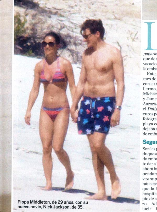 Pippa Middleton y su novio, Nico Jackson