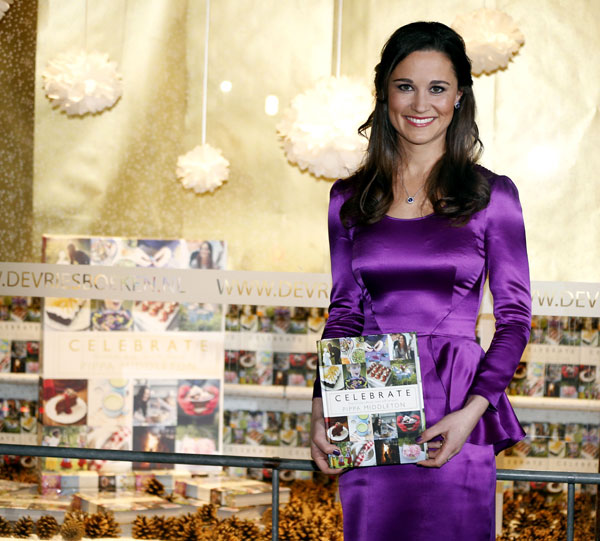 Pippa Middleton presenta su libro, Celebrate