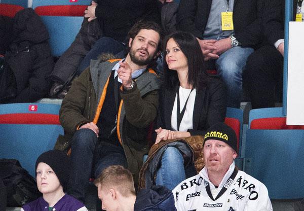 Carlos Felipe y su novia, Sofía Hellqvist