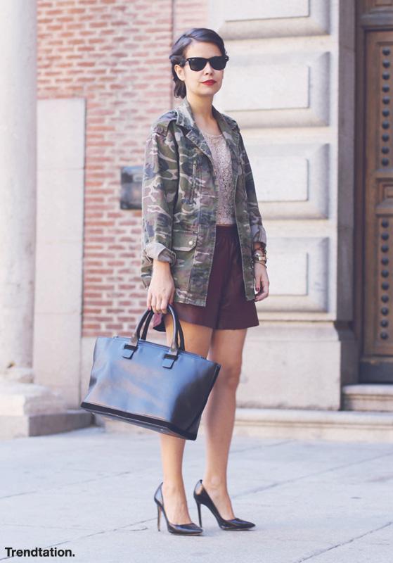 St Style: el look militar arrasa en la calle este otoño Semana