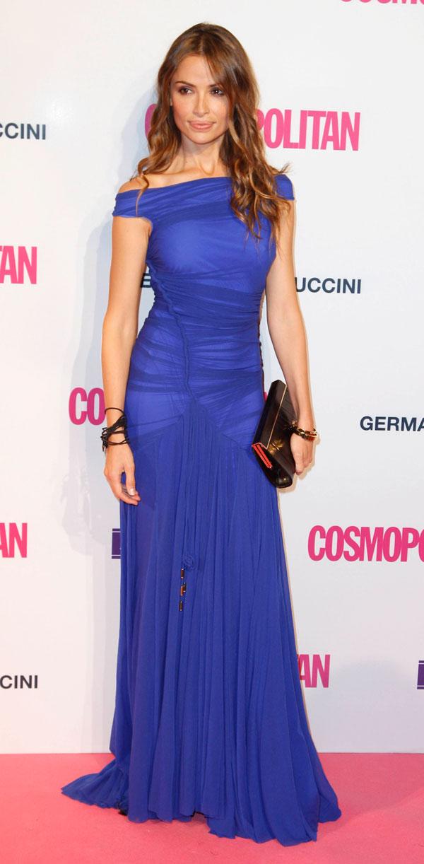 Nuestras famosas se visten de gala en la fiesta Cosmopolitan en ...