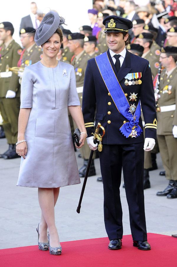 Carlos Felipe de Suecia y Marta Luisa de Noruega
