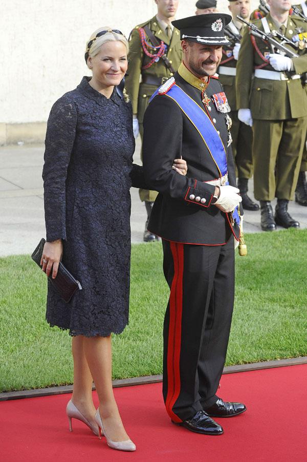 Haakon y Mette-Marit de Noruega