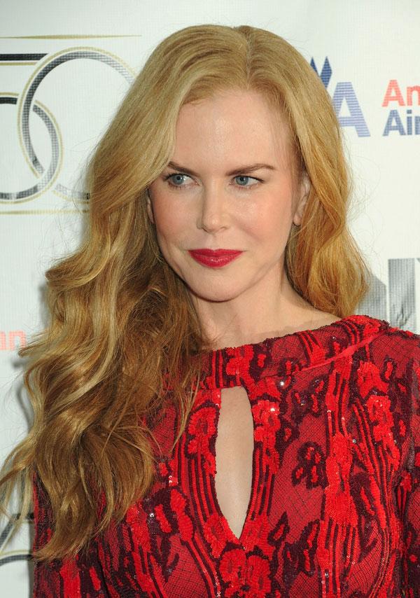 Nicole Kidman, homenajeada en Nueva York