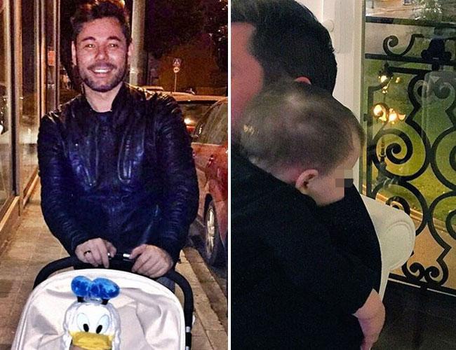 Miguel Poveda: feliz con su faceta como padre