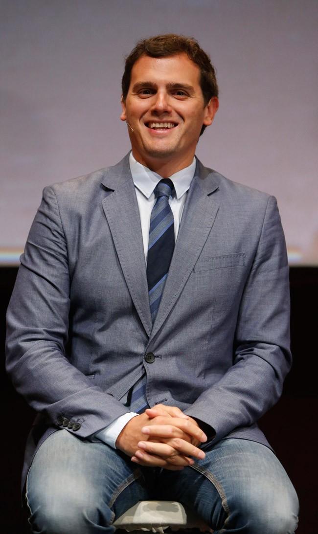 Albert Rivera, de 35 años es uno de los políticos más sexys de nuestro país