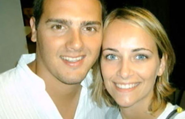 Con su ex-mujer, Mariona Soperas, con la estuvo 20 años y con la que tiene una hija en común, Daniela