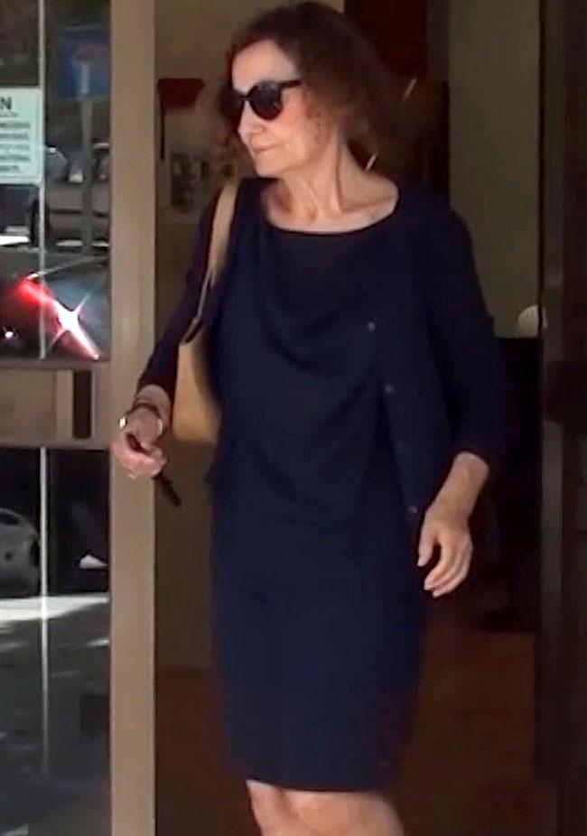 La tristeza de Paloma Rocasolano