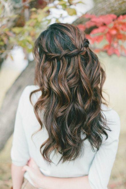 Peinados para invitada de boda pelo suelto
