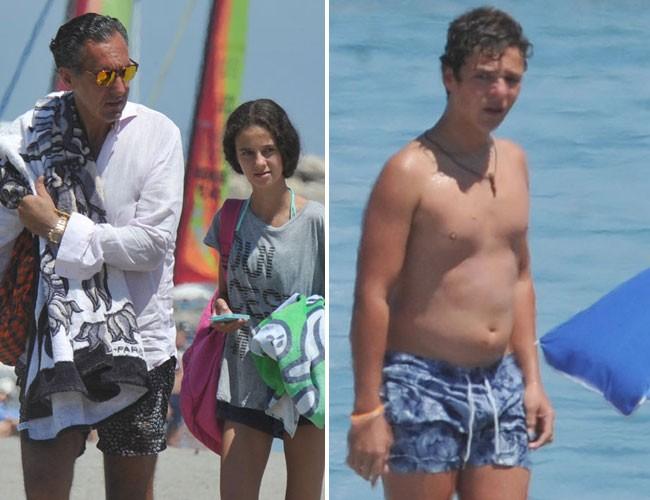 Jaime de Marichalar, vacaciones en Sotogrande con sus hijos