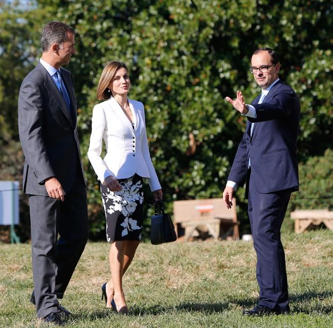 Felipe y Letizia celebran hoy el cumpleaños de la Reina en Washington, donde se encontrarán con el matrimonio Obama