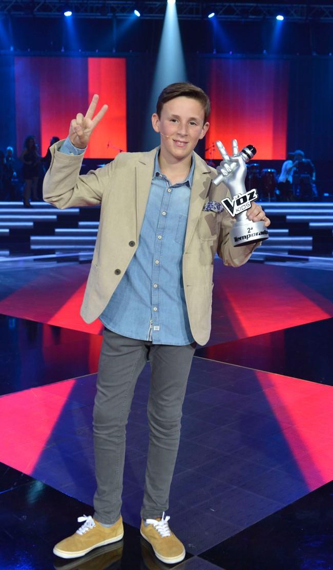 Jose María, el niño sevillano de 11 años que ha ganado la segunda edición de 'La Voz Kids'