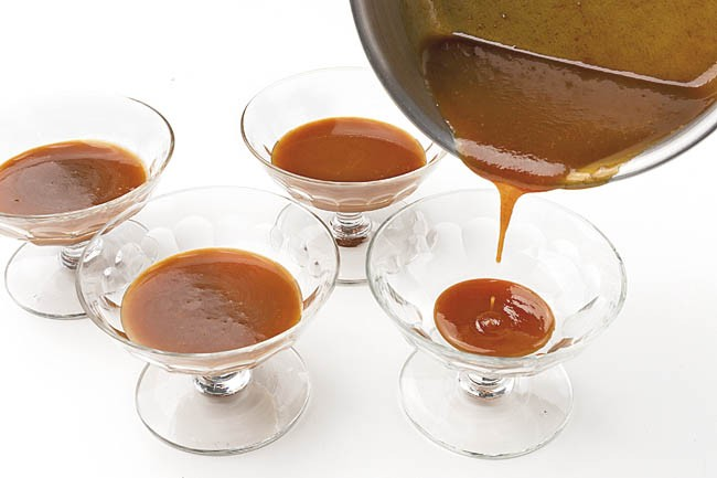 Crema de manchego con toffee
