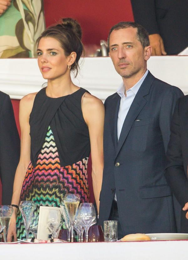 Carlota y Gad Emaleh, en una de las últimas veces que aparecieron juntos en público
