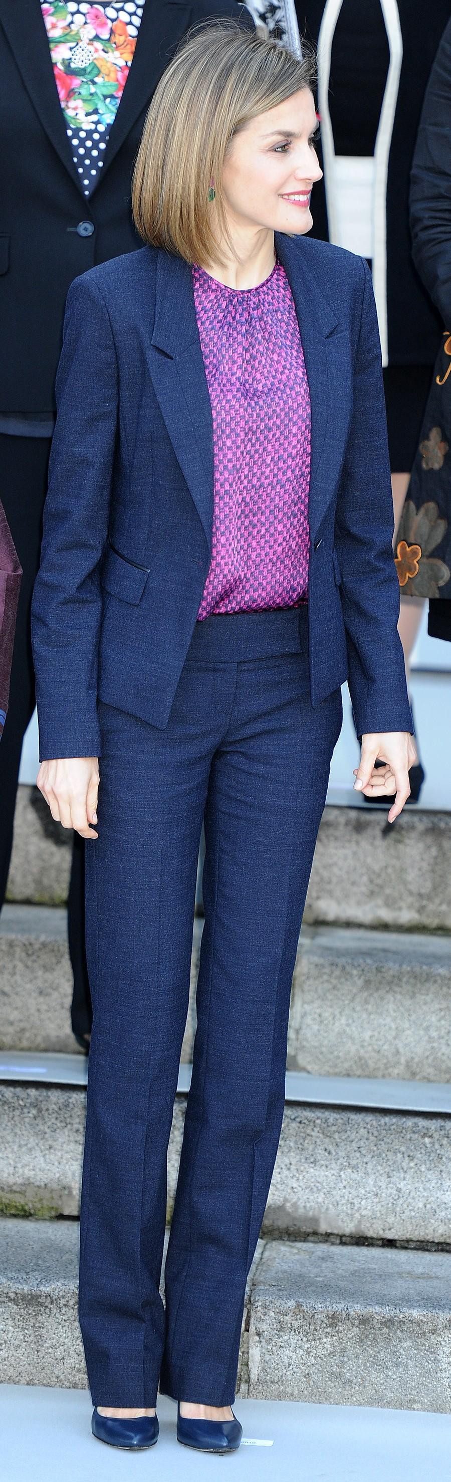 La Reina Letizia, esta mañana en el foro Mujeres por África