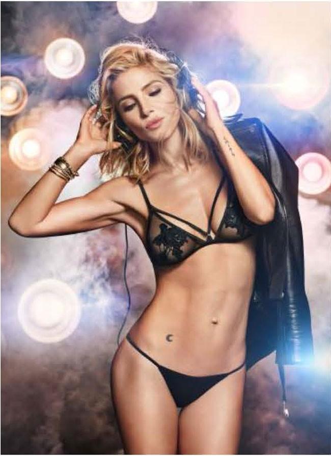 En una de las sexys imágenes de la campaña que la actriz protagoniza para Women´s Secret