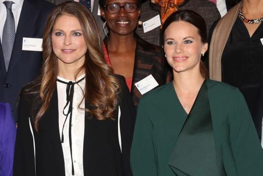 """Magdalena y Sofía de Suecia, las dos muy guapas y cada una """"en su estilo"""""""