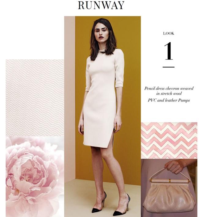 El mismo vestido, tal y como aparece en la web de la firma italiana
