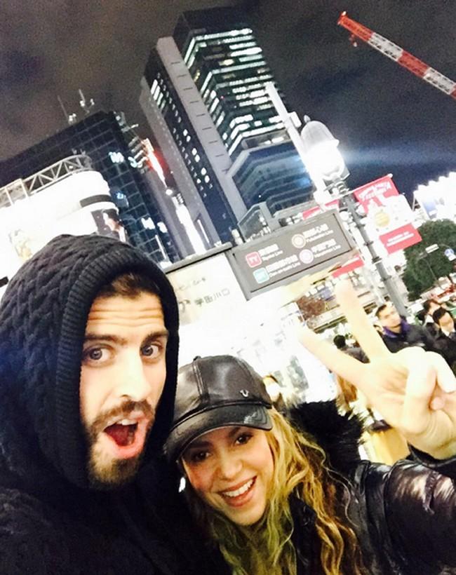 Shakira y Piqué en una foto de archivo