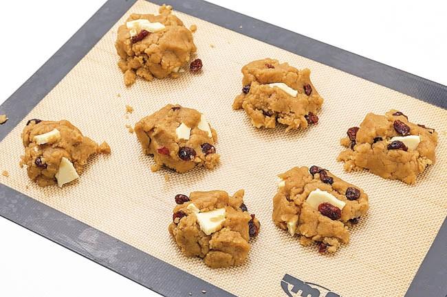 Cookies de pasas y chocolate