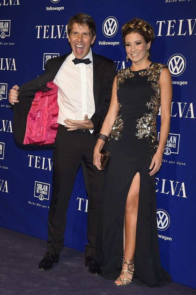 """Manuel Díaz """"El Cordobes junto a su mujer Virginia Troconis suelen mostrar su gran complicidad como pareja en todas sus apariciones públicas"""