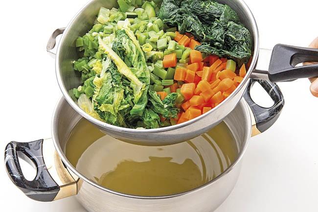 Budin de verduras