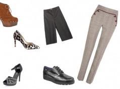 Combinación de pantalones y zapatos