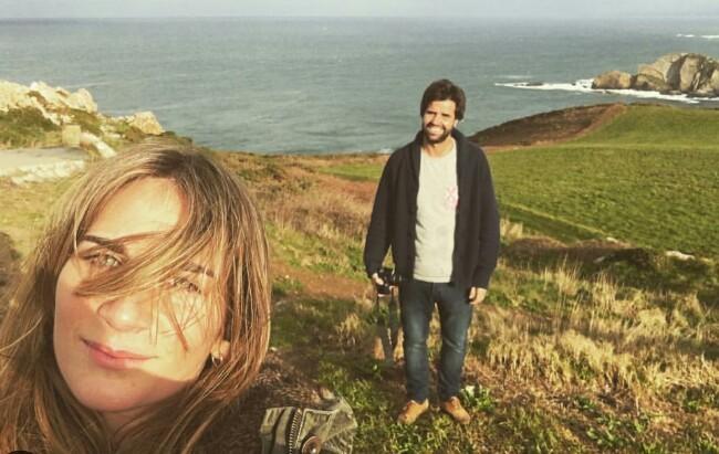 Sibi Montes y Álvaro Sanchís en una fotografía publicada por el joven en Instagram