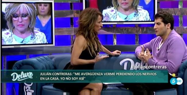 Julián Contreras aseguró que se avergozaba de su agresividad en el enfrentamiento con Carlos Lozano