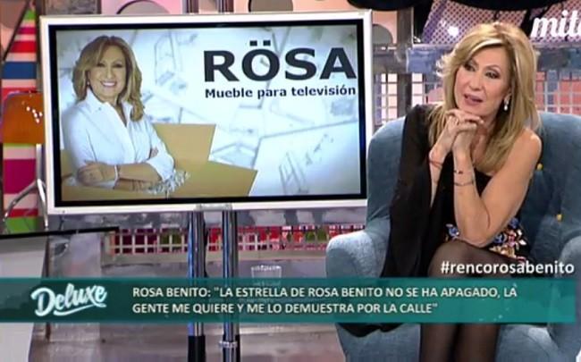 Rosa Benito defendió también el papel de su amiga Raquel Bollo en Gran Hermano VIP