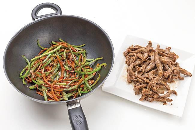 Arroz en wok