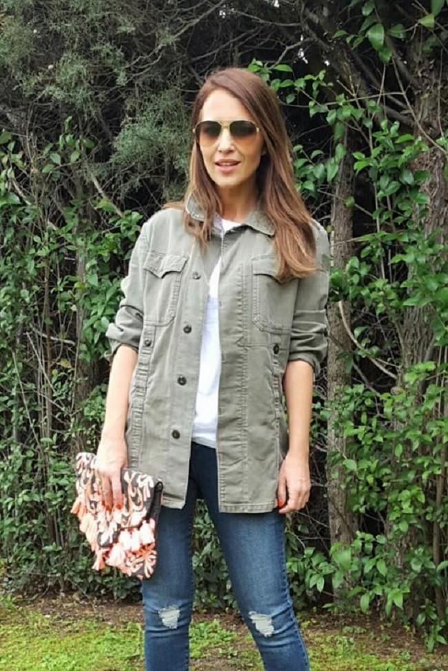 Paula con uno el último outfit que ha presentado en su blog