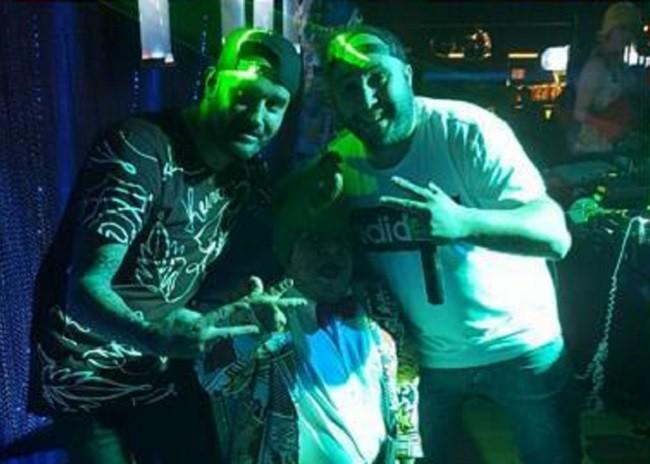 Kiko Rivera anoche durante su show en una discoteca gallega Foto: Instagram Kiko Rivera