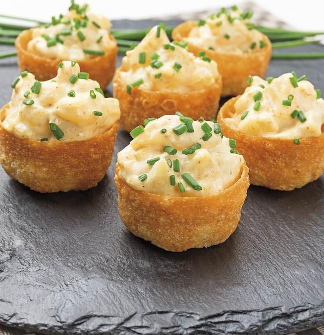 Tartaletas de piña