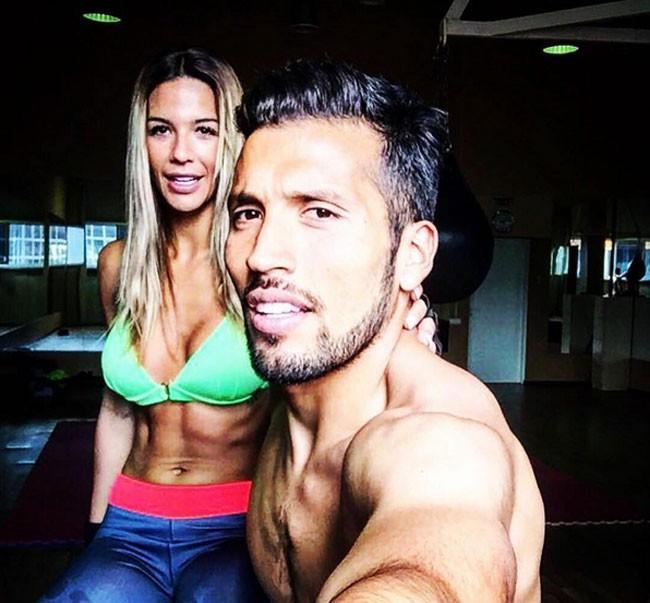 Tamara Gorro y Ezequiel Garay no deja de compartir imágenes juntos.