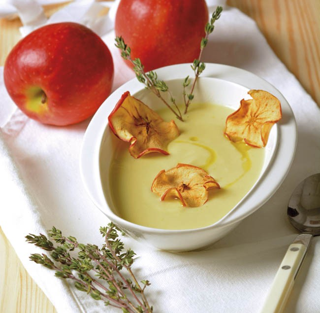 Crema de cebolla aromatizada
