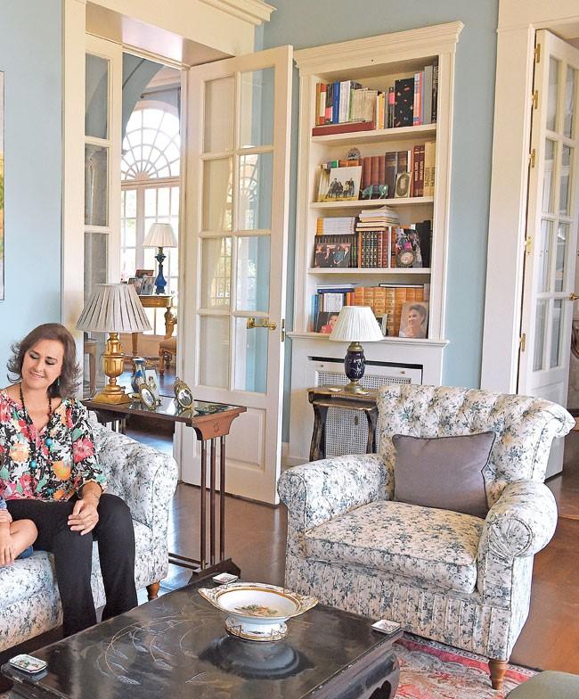 La impresionante casa de Carmen Tello en Sevilla