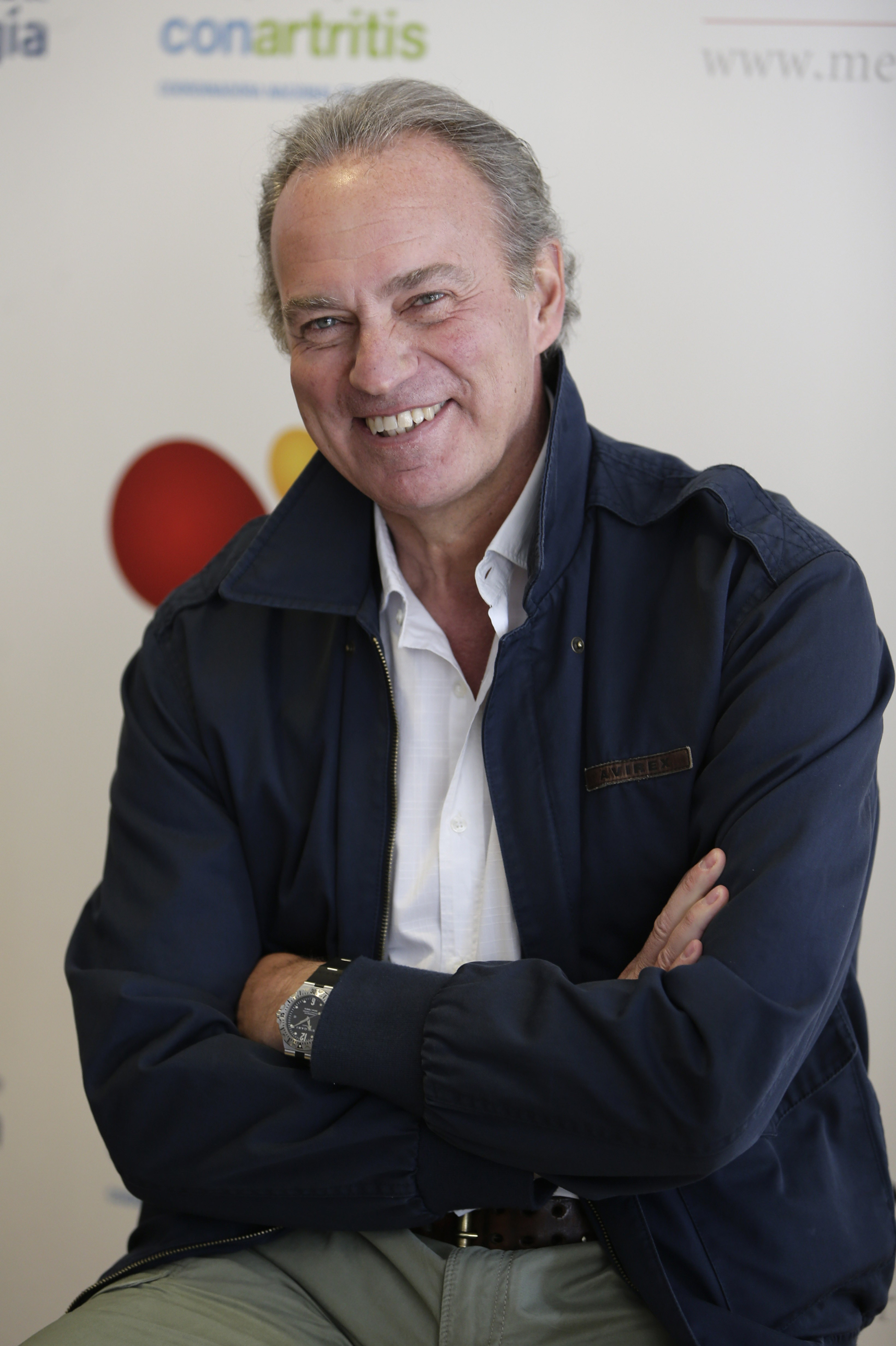 """El presentador y cantante Bertín Osborne durante la presentacion de la campaña """"Un paso + en la gota"""" 2016 en Madrid 05/05/2016 Madrid"""