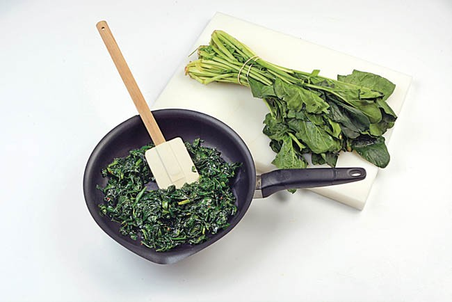 Budin de verduras tricolor