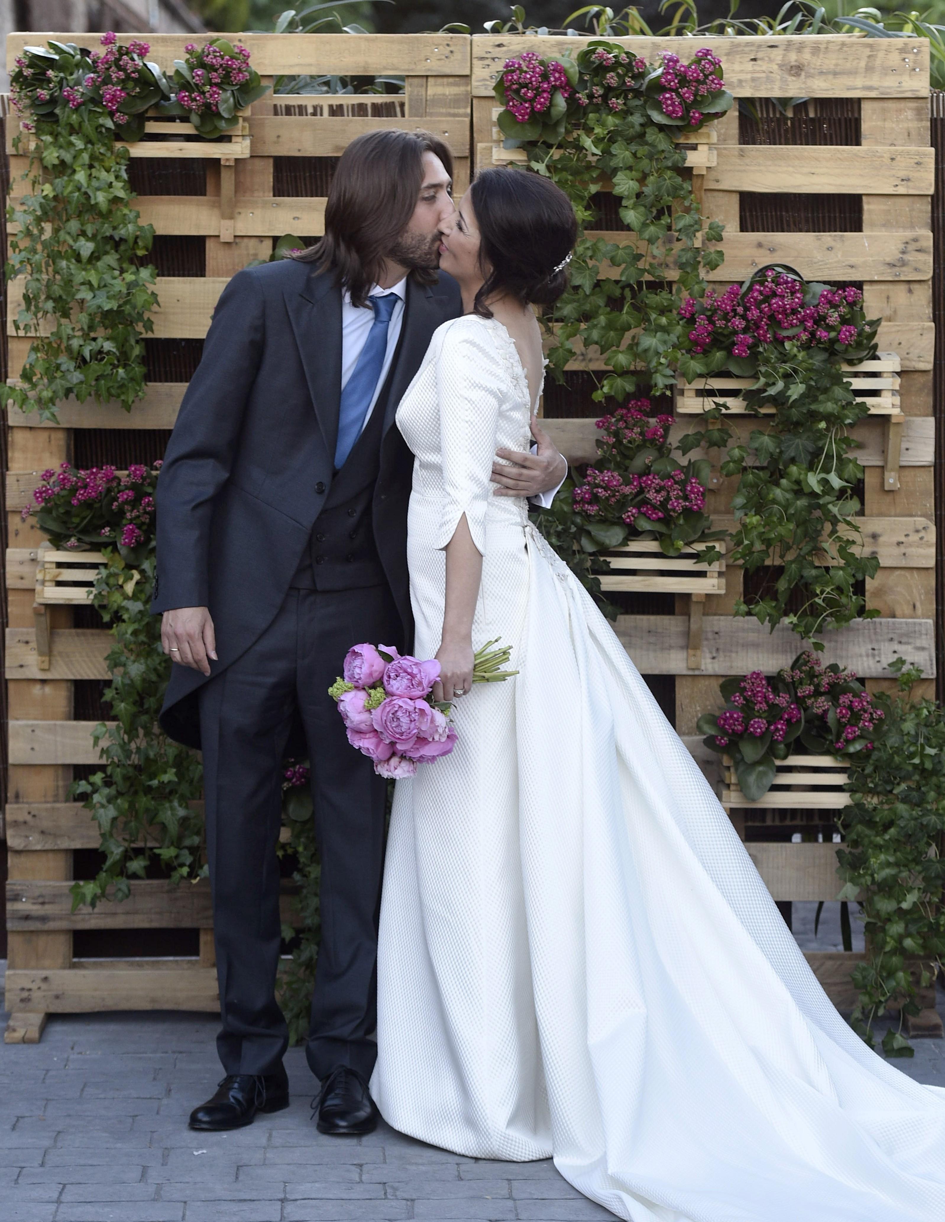Sara Verdasco y Juan Carmona se casaron en junio de 2016 en Madrid bajo la atenta mirada de numerosos familiares y amigos.