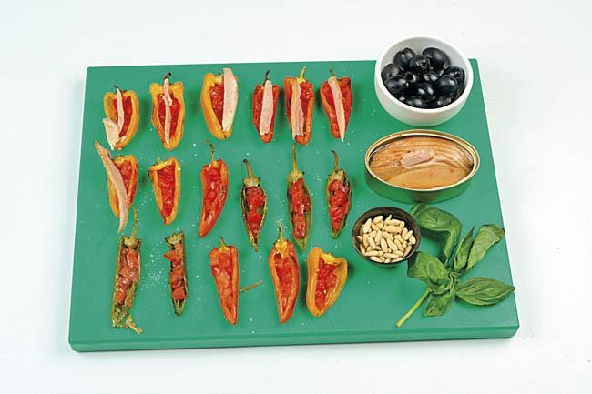 Mini-pimientos asados con ventresca