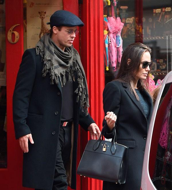 Angelina Jolie y Brad Pitt: ¿quién dijo crisis?