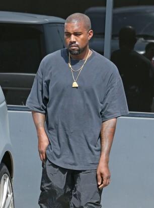 Singer Kanye West in Los Angeles on July 30, 2016