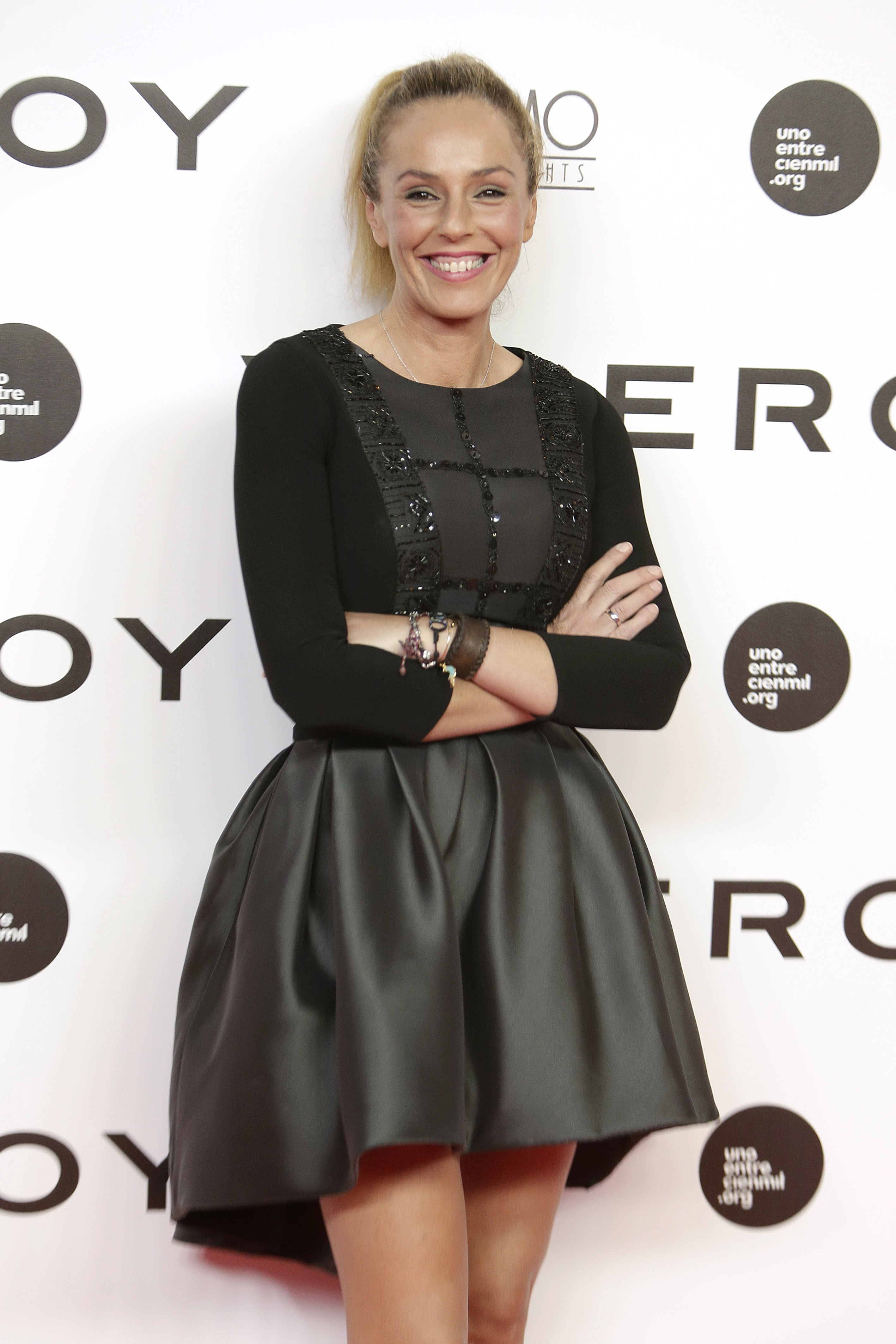 """Rocío Carrasco durante la premiere del documental """" Soy uno entre cien mil """" en Madrid. 19/09/2016"""