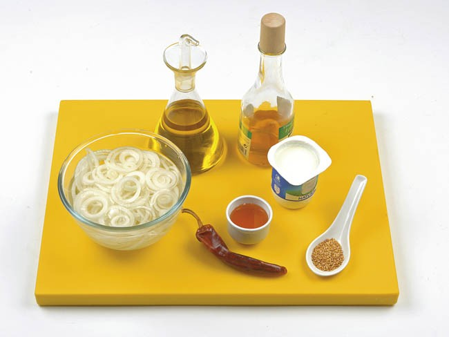 Ensalada de pepino y yogur con especias
