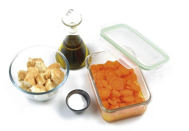 Gazpacho de zanahoria, naranja y jengibreGazpacho de zanahoria, naranja y jengibre