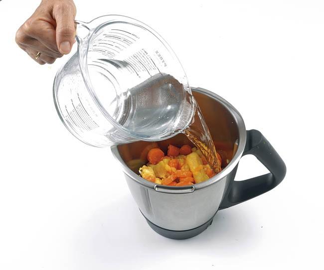 Gazpacho de zanahoria, naranja y jengibre