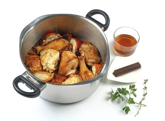 Pollo con langosta