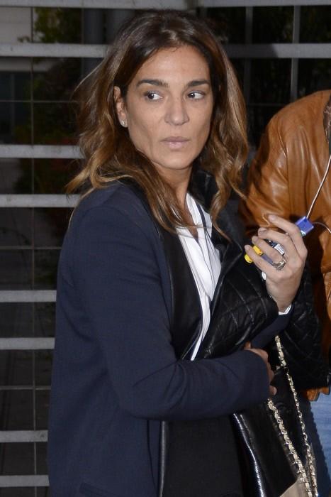 El pasado jueves, Raquel Bollo saliendo de los juzgados en Madrid.